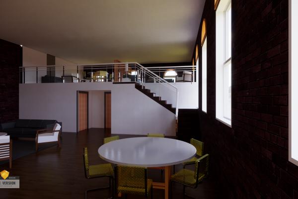 Interior Renovation Render